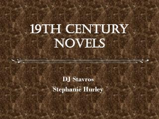19th Century Novels