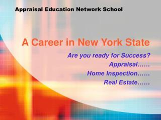 A Career in New York State