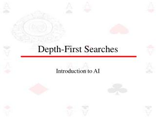 Depth-First Searches