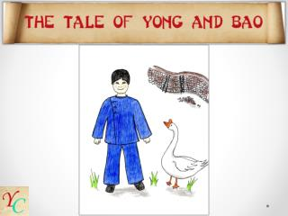 """ Bao , shoo!  Out of the kitchen!"" Yong's mother scolded. ""Oh, that goose has a mind of her own."""