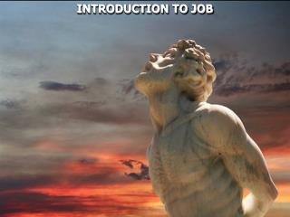 INTRODUCTION TO JOB