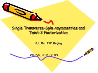Single Transverse-Spin Asymmetries and Twist-3 Factorization