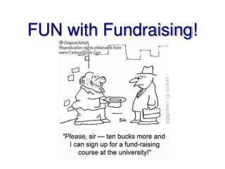 FUN with Fundraising!