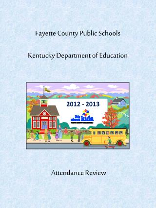 Fayette County Public Schools Kentucky Department of Education