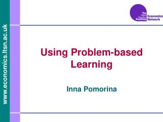 Using Problem-based Learning