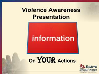 Violence Awareness Presentation
