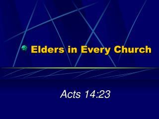 Elders in Every Church