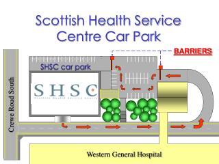 Scottish Health Service Centre Car Park