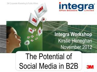 Integra Workshop Kirstie Heneghan November 2012
