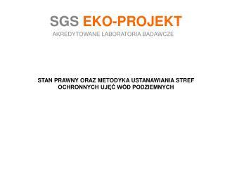 SGS  EKO-PROJEKT