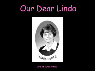 Linda's Grad Photo