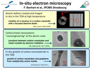 In-situ electron microscopy