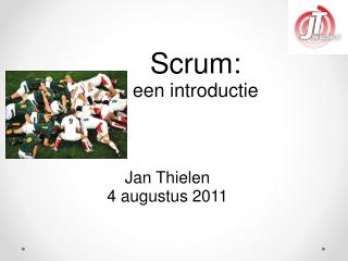 Scrum:  een introductie