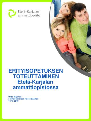 1.   Lains��d�nt�  Laki ammatillisesta koulutuksesta  630/ 1998  -  20 �   Erityisopetus