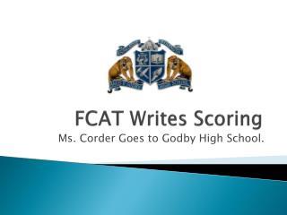FCAT Writes Scoring