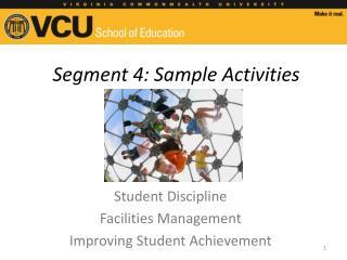 Segment 4: Sample Activities