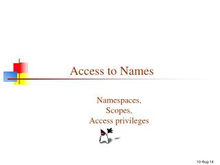 Access to Names