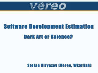 Software Development Estimation