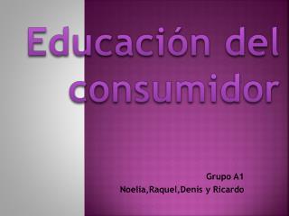 Educación del consumidor