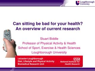 Can sitting be bad for your health? An overview of current research