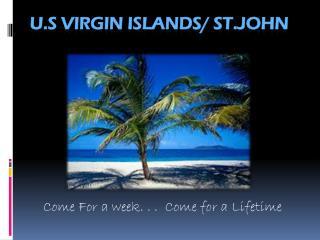 U.S Virgin Islands/ St.John