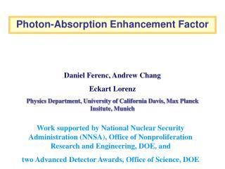 Photon-Absorption Enhancement Factor