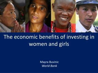 The economic benefits of investing in women and girls