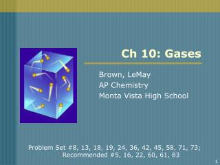 Ch 10: Gases