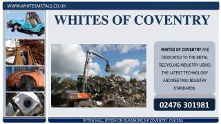 WHITES OF COVENTRY