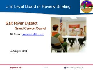 Unit Level Board of Review Briefing