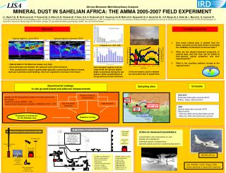 African Monsoon Multidisciplinary Analysis