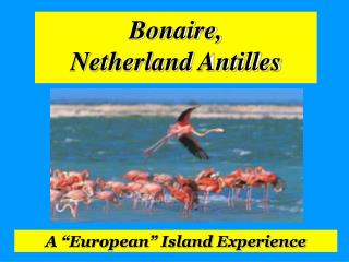 Bonaire,  Netherland Antilles