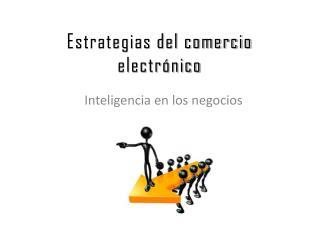 Estrategias del comercio electrónico