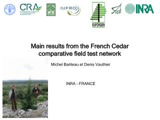 Main results from the French Cedar  comparative field test network