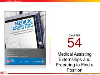 Medical Assisting Externships and Preparing to Find a Position
