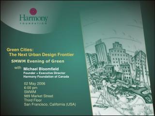 Green Cities:   The Next Urban Design Frontier