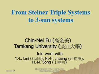 From Steiner Triple Systems to 3-sun systems