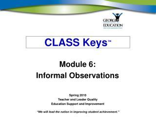 CLASS Keys ™