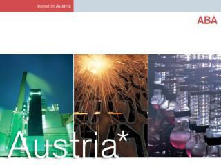 Peter CH. Löschl ABA-Avusturya'ya Yatırım