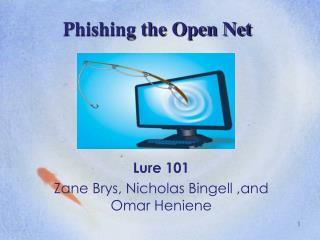 Phishing the Open Net