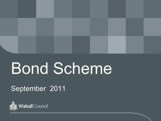 Bond Scheme