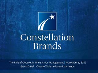 The Role of Closures in Wine Flavor Management | November 6, 2012