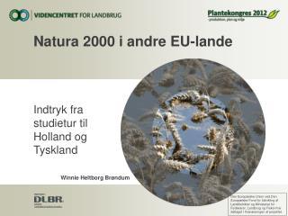 Natura 2000 i andre EU-lande