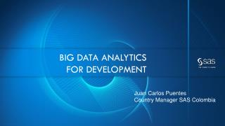Big data analytics  for  Development