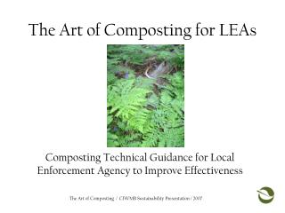 The Art of Composting for LEAs