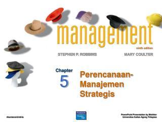 Perencanaan-Manajemen  Strategis