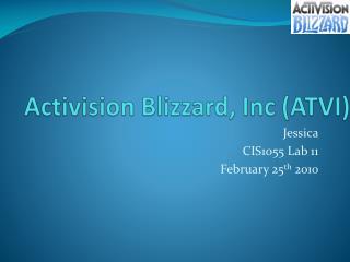 Activision Blizzard, Inc (ATVI)