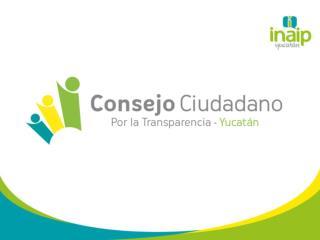 Instituto de Acceso a la Información Pública del Estado de Yucatán.