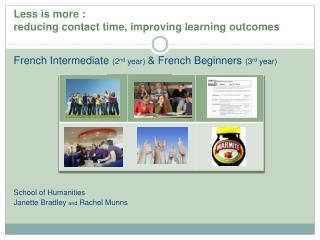 Less is more : reducing contact time, improving learning outcomes