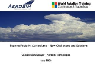 Training Footprint Curriculums – New Challenges and Solutions
